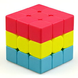 DCMR トイ ルービック キューブ 特殊 3列 凸凹 デザイン ポップカラー 変形 パズル 1点