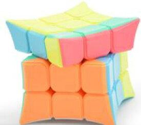 DCMR ルービック キューブ 特殊 形状 3段 タイプ トゲトゲ 立方体 マカロン カラー 1点