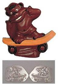 デコレリーフ チョコレートモルドゴリラ     EU-562
