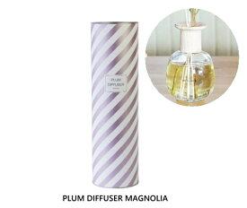 プラム ディフューザー マグノリア Plum Diffuser MAGNOLIA フレグランス 芳香剤 スティック ガラスボトル