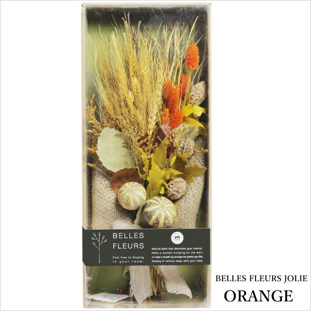 ドライフラワー 花束 ベル フルール ジョリー オレンジ Belles Fleurs Jolie ORANGE ドライフラワー セット ブーケ スワッグ 壁飾り