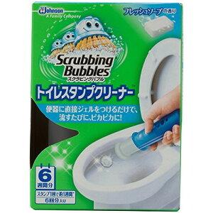 スクラビングバブル トイレ洗浄剤 トイレスタンプクリーナー フレッシュソープの香り 本体 38g