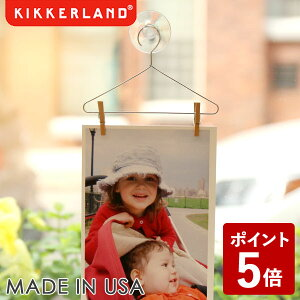 【P5倍】KIKKERLAND セット オブ 3 フォト ハンガー KMH73 キッカーランド