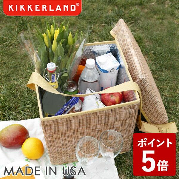 【ポイント5倍】KIKKERLAND ウィッカー ピクニック クーラー シート KCD139 キッカーランド