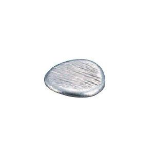 【全品P5倍〜10倍】錫 丸餅型箸置 ゴザ目 SG019