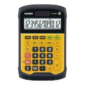 【全品P5倍〜10倍】カシオ 防水・防塵電卓 12桁 WM-320MT-N XDV2801