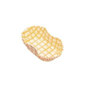 紙カップ ココケース小判型 500枚入 11号 黄