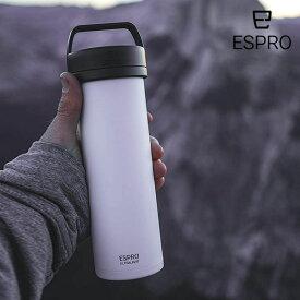 【P5倍】ESPRO コーヒープレス ウルトラライト コーヒー ホワイト 白 エスプロ 473ml 軽量 おうち時間 アウトドア クラフトコーヒー キャンプ アメリカ USA