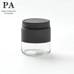 【全品P5〜10倍】PA ボトル型キャニスター S(510ml) Black 黒 ブラック 湯せん不可 見せる収納 コーヒー豆 紅茶 グラノーラ 調味料 おうち時間 映え ピーエー 双葉塗装