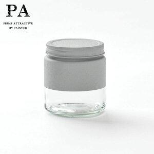 【全品P5〜10倍】PA ボトル型キャニスター S(510ml) Gray 灰 グレー 湯せん不可 見せる収納 コーヒー豆 紅茶 グラノーラ 調味料 おうち時間 映え ピーエー 双葉塗装