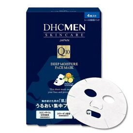 DHCMEN ディープモイスチュア フェースマスク 4枚入