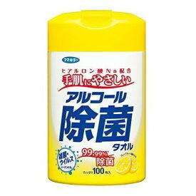 フマキラー アルコール除菌タオル 本体 100枚入