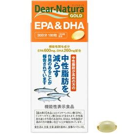 ディアナチュラゴールド EPA&DHA 30日分 180粒入 アサヒグループ食品