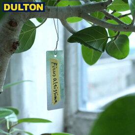 DULTON ガルバナイズド プラント マーカー レクタングル W38 (品番:K955-1228) ダルトン インダストリアル アメリカン ヴィンテージ 男前