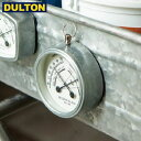 【在庫限り】【P5倍】DULTON Thermo-hygrometer 温湿度計 Round 【品番:K925-1283RD】 ダルトン インダストリアル ア…
