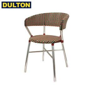 【P5倍】DULTON Aluminum roundish chair Red/Green ガーデンチェア 【品番:F19-0001RD/GN】 ダルトン インダストリアル アメリカン ヴィンテージ 男前