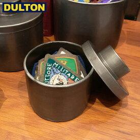 【P5倍】DULTON メタル ラウンド ボックス S 【品番:H19-0037S】 ダルトン インダストリアル アメリカン ヴィンテージ 男前