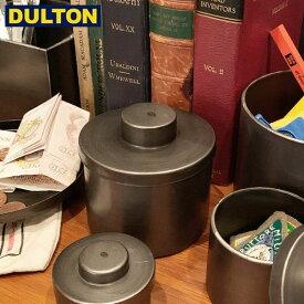 【P5倍】DULTON メタル ラウンド ボックス M 【品番:H19-0037M】 ダルトン インダストリアル アメリカン ヴィンテージ 男前