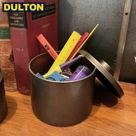 【P5倍】DULTON メタル ラウンド ボックス L 【品番:H19-0037L】 ダルトン インダストリアル アメリカン ヴィンテージ 男前