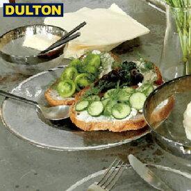 【P5倍】DULTON GLASS TABLEWARE OBO PLATE 280 【品番:A515-302-280】 ダルトン インダストリアル アメリカン ヴィンテージ 男前 グラステーブルウェア オーボ プレート 280 シルバー