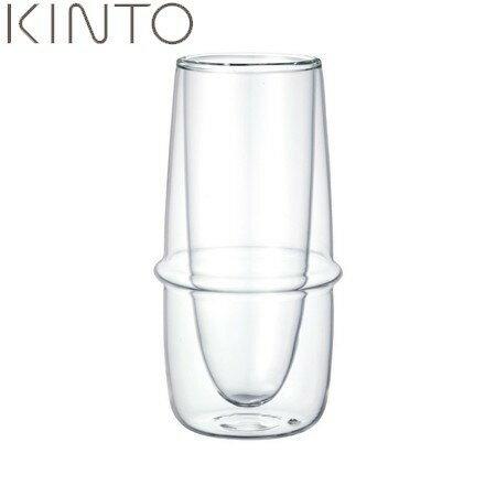 【ポイント10倍】KINTO KRONOS ダブルウォール シャンパングラス 23109 キントー クロノス