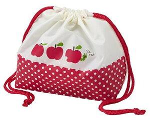 弁当袋巾着 りんご トルネ