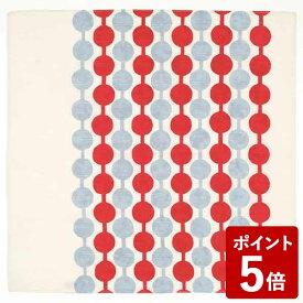 【P5倍】チーフ 竹久夢二 約48cm風呂敷 綿100% つなぎだんご アカ 山田繊維