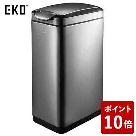 【全品P5〜10倍】EKO ゴミ箱 ティナ タッチビン ガンメタ 30L EK9177BS-30L