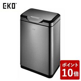 【P10倍】EKO ゴミ箱 タッチプロ ビン ガンメタ 30L EK9178BS-30L