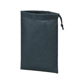 【全品P5〜10倍】不織布巾着袋 黒 260X180MM (10枚入) TRUSCO TNFD10S-8539