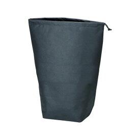 【全品P5〜10倍】不織布巾着袋 黒 500X420X220MM (10枚入) TRUSCO TNFD10L-8539