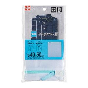 【全品P5倍〜10倍】LEC 角型くずよけネット 大 40×50cm W00086 レック