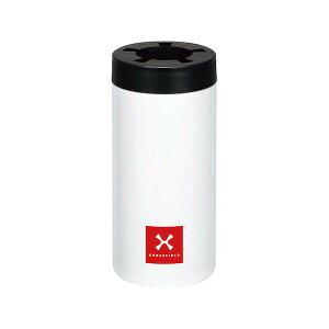 【全品P5〜10倍】カクセー クロスフィールド 真空二重ステンレス ペットボトルホルダー(ポーチ付き) 500mL用 XF-500