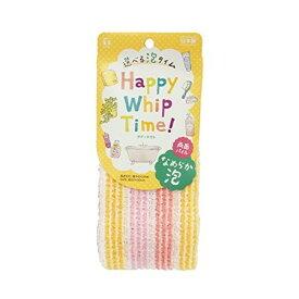 【全品P5倍〜10倍】Happy Whip Time! なめらか泡両面パイルタオル 東和産業
