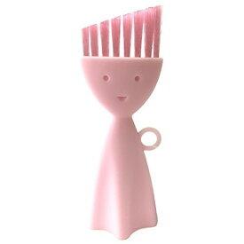 お弁当箱洗いブラシ ピンク K187P マーナ