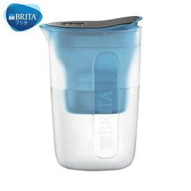 BRITA ブリタ 浄水 ポット 1.0L ファン ブルー マクストラプラス カートリッジ 1個付