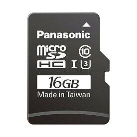 【全品P5〜10倍】Panasonic(パナソニック) 16GB microSDHC UHS-I カード RP-SMGB16GJK