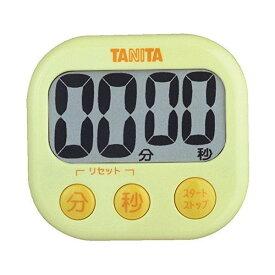 タニタ(TANITA) でか見えタイマー イエロー TD-384