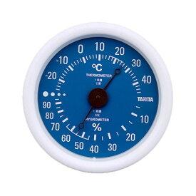 【全品P5〜10倍】タニタ(TANITA) 温湿度計 ブルー TT-515-BL