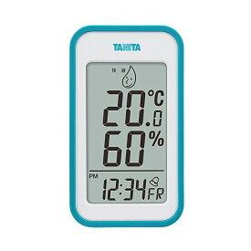 【全品P5〜10倍】タニタ(TANITA) デジタル温湿度計 ブルー TT-559-BL