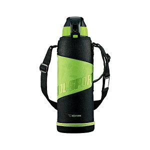 象印(ZOJIRUSHI) 水筒 直飲み スポーツタイプ ステンレスクールボトル 1.5L グリーンブラック SD-FA15-BG