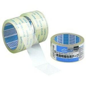 【全品P5倍〜10倍】超透明梱包テープ48×50 SC-01 J6120 NITTO NV1209