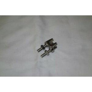 ワイヤークリップ 鋳造 電気メッキ 6mm WR6728