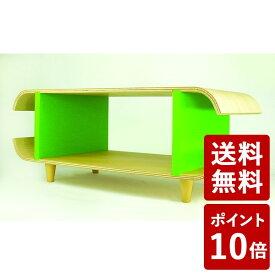 【P10倍】ヤマト工芸 TVボード マカロン ライトグリーン YK09-125 yamato japan