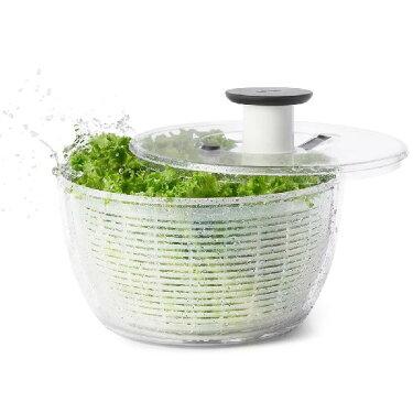 【ポイント10倍】オクソー野菜水切り器クリアサラダスピナー大丸型11230400OXO