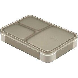 【全品P5〜10倍】フードマン 薄型弁当箱 抗菌 600ml グレーベージュ ランチボックス シービージャパン