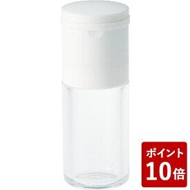【P10倍】セラミック スパイスミル ソルト ホワイト 川崎合成樹脂 ワイ・ヨット