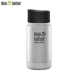 クリーンカンティーン klean kanteen ワイドインスレートボトル カフェキャップ 2.0 12oz ステンレス 水筒 K12VWPCC-BS-A