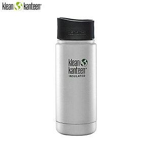 【在庫限り】クリーンカンティーン klean kanteen ワイドインスレートボトル カフェキャップ 2.0 16oz ステンレス 水筒 K16VWPCC-BS-A