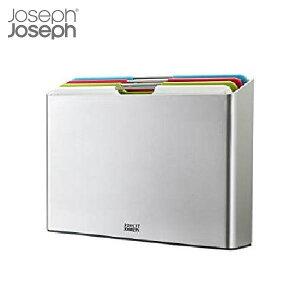 【全品P5〜10倍】JosephJoseph フォリオ ラージ シルバー まな板セット 60185 ジョセフジョセフ CODE:5014923